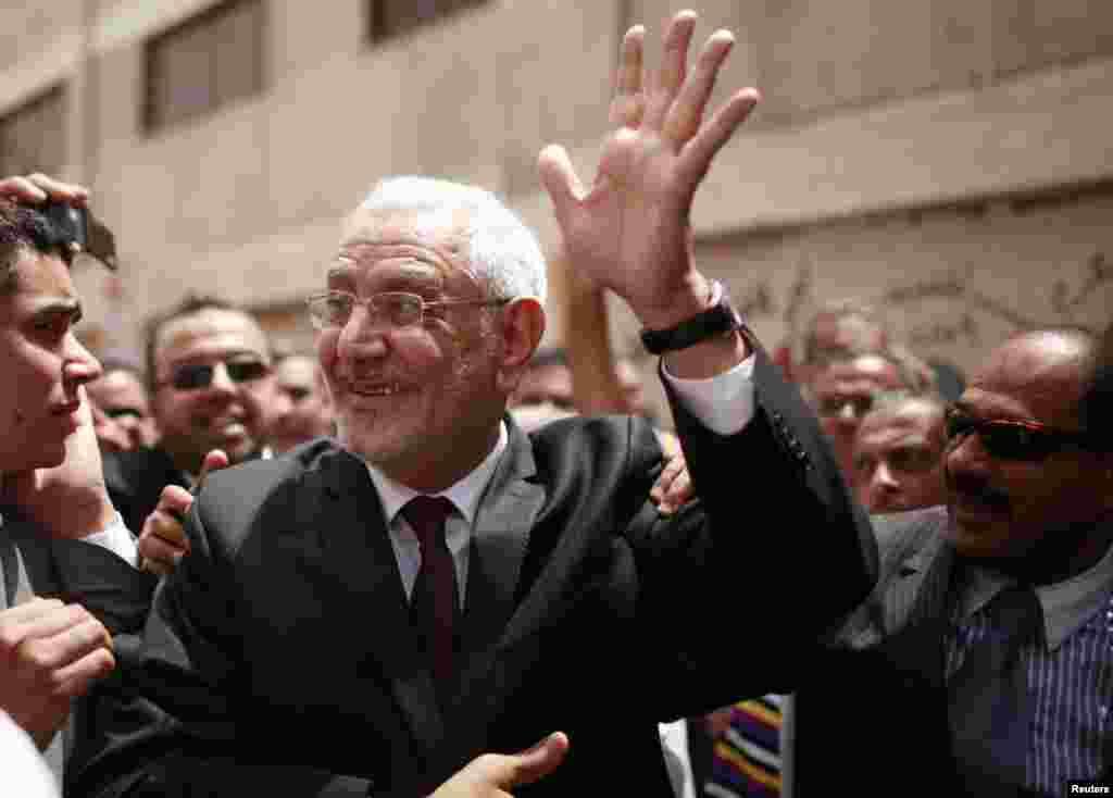 Predsednički kandidat Abdel Moneim Abol Fotouh.