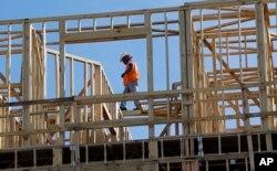 지난 6일 미국 테네시주 네시빌에서 주상복합 아파트 건설 공사가 진행 중이다.
