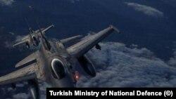 Turkish fighter jets