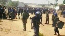 Polícia em Cafunfo (Foto de Arquivo)