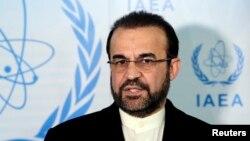آئی اے ای اے کے لیے ایرانی سفیر رضا نجفی