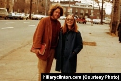 Hillary met Bill Clinton while studying at Yale University. They began dating in 1971. (hillaryclinton.com)