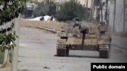 Militan ISIS menguasai wilayah Kurdi utara di Suriah yang juga dikenal sebagai Ayn Arab (18/9).