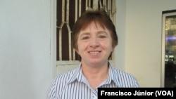 Marinês Biasibetti, representante da CEMIRDE, Maputo.
