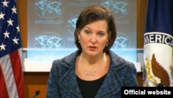 Feb. 19, 2013: U.S. Department of State Daily Press Briefing by Spokesperson Victoria Nuland in Washington, DC.