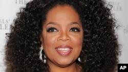Oprah en la presentacion de la película The Butler.