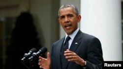 Tổng thống Obama loan báo về số binh sĩ Mỹ sẽ được duy trì ở Afghanistan vào cuối năm nay, 27/5/14