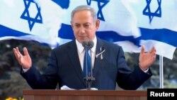 "PM Israel Benjamin Netanyahu menentang ""pendiktean internasional"" mengenai perundingan damai Israel-Palestina (foto: dok)."