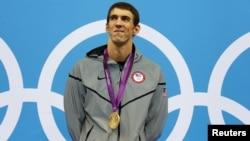 美国游泳健将迈克•菲尔普斯