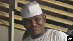Manjo. Hamza Al-Mustapha a wani hoto da aka dauka a 2012.