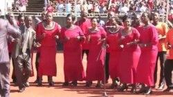 Sherehe za kuapishwa Uhuru Kenyatta