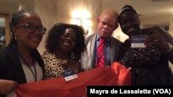 De Angola Ângela Sá, Rita Tavares, Joel Tchombosi e da Guiné-Bissau Lizandra Reis