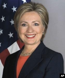 美国国务卿希拉里.克林顿