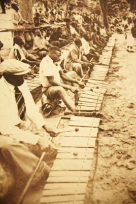 Some of Hugh Tracey's most important work involved recording the timbila – or xylophone – players of the Chopi people of Mozambique in the 1940s