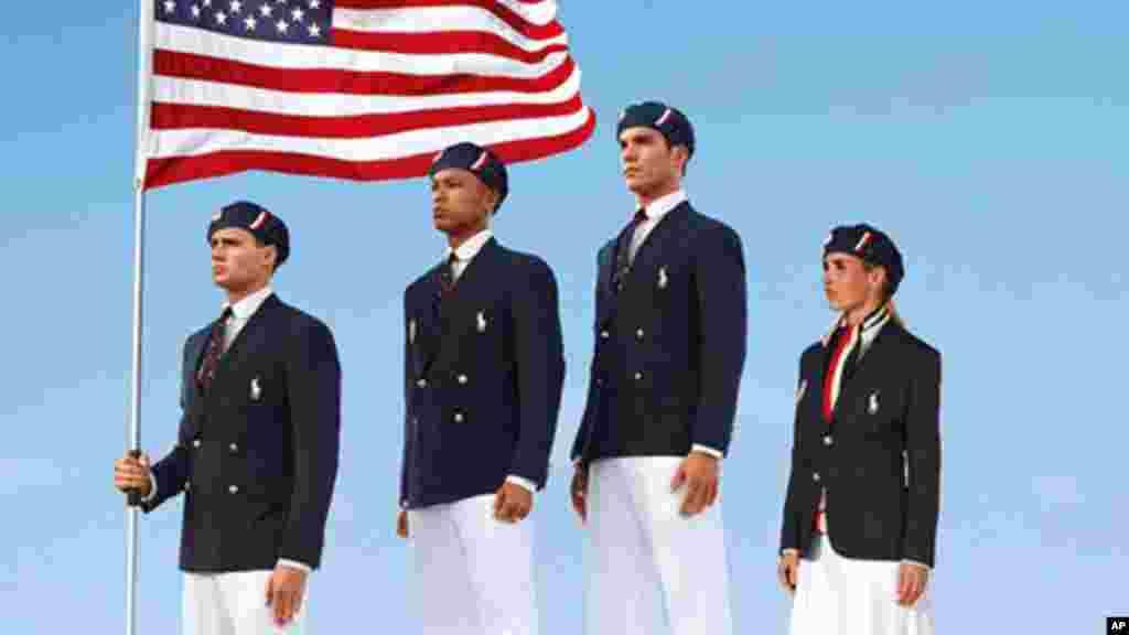 ABŞ Olimpiya komandası Amerika dizayneri Ralf Loren tərəfindən dizayn edilmiş formada
