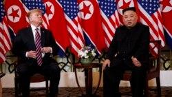 Trump နဲ႔ Kim သီးျခား နာရီ၀က္ၾကာ ေတြ႔ဆံု