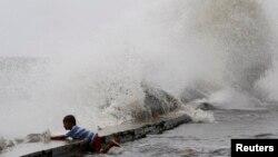 Setelah topan Usagi, Laut China selatan kembali dilanda Topan Wutip yang menyapu tiga kapal nelayan China (foto: dok).