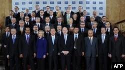 Учасники Лондонської конференції у справі Лівії