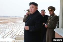 Lãnh tụ Kim Jong Un muốn Bắc Triều Tiên trở thành một cường quốc hạt nhân.