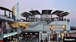Centro Comercial Larcomar, en Lima, Perú.