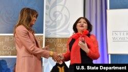 Aiman Umarova Kazakhstan International Women of Courage