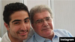 محمدرضا شجریان و پسر کوچکش رایان