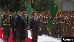 Хамид Карзай и Франсуа Олланд