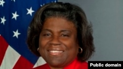 Linda Thomas-Greenfield, secretária de Estado americana Assistente para Assuntos Africanos