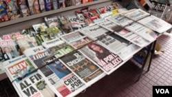 Más de 1.300 editores de periódicos y revistas participan de la Asamblea General de Sociedad Interamericana de Prensa para analizar la situación de la libertad de prensa en la región.