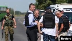 欧洲安全与合作组织观察员在乌克兰东部
