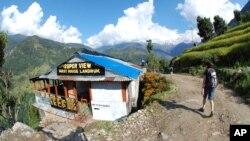 Le Mont Annapurna au Népal.