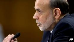 Federal Reserve Board Chairman Ben Bernanke testifies before the Senate Banking Committee on Capitol Hill, Feb. 26, 13.