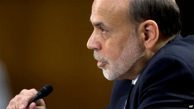 Federal Reserve Board Chairman Ben Bernanke testifies before the Senate Banking Committee on Capitol Hill, Feb. 26, 13.