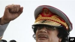 리비아 지도자 무아마르 가다피(자료사진)