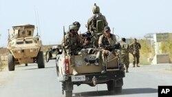 دا په وروستیو اونیو کې لومړی ځل دی چې افغان امنیتي ځواکونه د ننګرهار ولایت په نسبتآ ارامه ولسوالۍ کې بهرنیان نیسي.