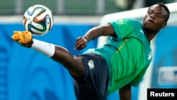 Ivory Coast national team midfielder Ismael Diomande. REUTERS/Mike Blake (BRAZIL - Tags: SPORT WORLD CUP SOCCER) - RTR3VD8O