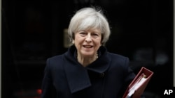 Thủ tướng Anh Theresa May
