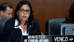 La canciller Delcy Rodríguez reiteró que Felipe González está detrás de un grupo antivenezolano que quiere protagonizar un golpe de Estado, al igual que lo hizo el presidente Nicolás Maduro.