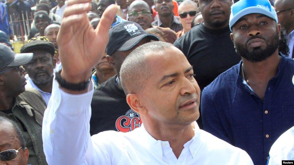 L'opposant congolais en exil Moïse Katumbi, 9 mai 2016.