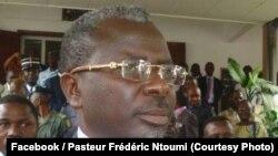 Pasteur Frédéric Ntumi, ancien leader des ex-miliciens Ninja à Brazzaville, Congo