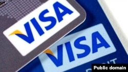 FILE - Visa Credit and Debit cards.