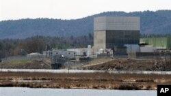 Атомная электростанция Vermont Yankee в Верноне, штат Вермонт
