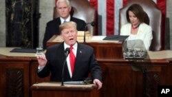 سخنرانی دونالد ترامپ رئیس جمهوری ایالات متحده در نشست مشترک کنگره - سهشنبه ۵ فوریه ۲۰۱۹