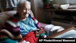 Susannah Mushatt Jones, asegura que la clave para una larga vida es dormir mucho.