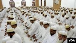دہلی میں عید الفطر کی نماز