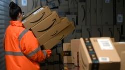 Distributivni centar kompanije Amazon (Foto: INA FASSBENDER / AFP)