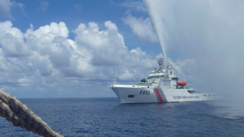 China to Build on Disputed Shoal in South China Sea