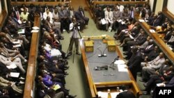 FILE - Zimbabwean parliament in Harare, March 4, 2009.