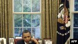 პრეზიდენტი ობამა მერკელს ტელეფონით ესაუბრა