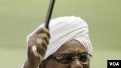 Presiden Sudan Omar Hasan al-Bashir (24/11).